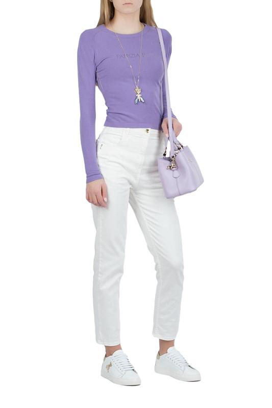 Водолазка женская Patrizia Pepe 104907 фиолетовая 42