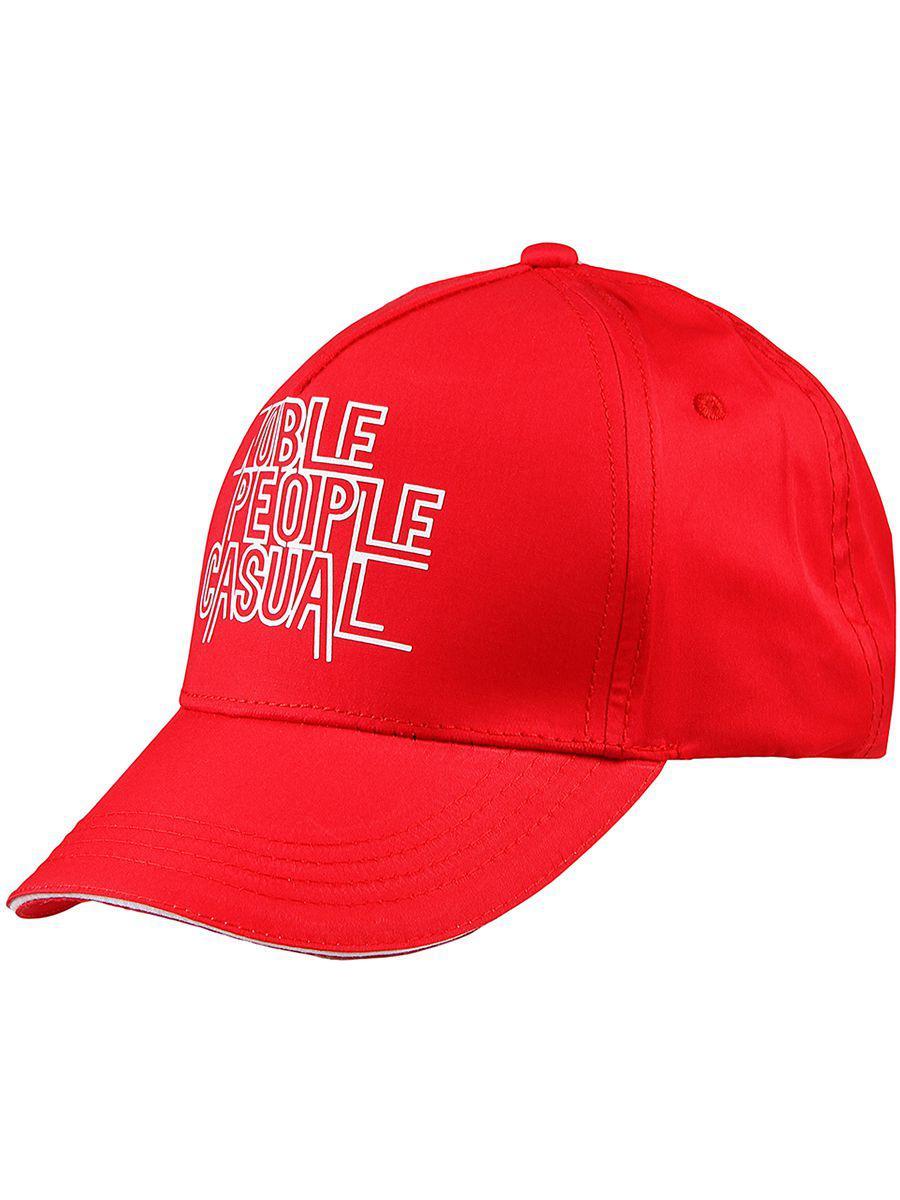 Бейсболка для мальчиков Noble People красный