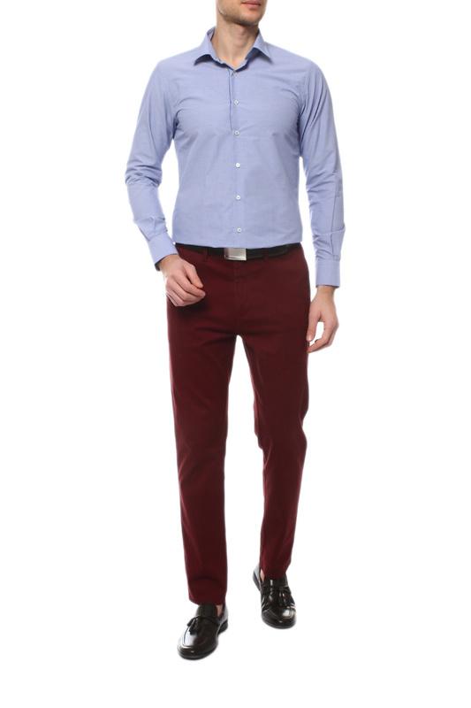 Рубашка мужская MONDIGO 16781 синяя S