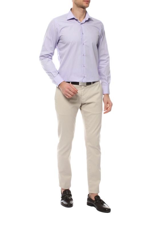 Рубашка мужская MONDIGO 16611 фиолетовая L