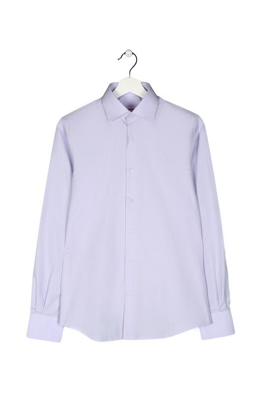 Рубашка мужская MONDIGO 16607 фиолетовая S