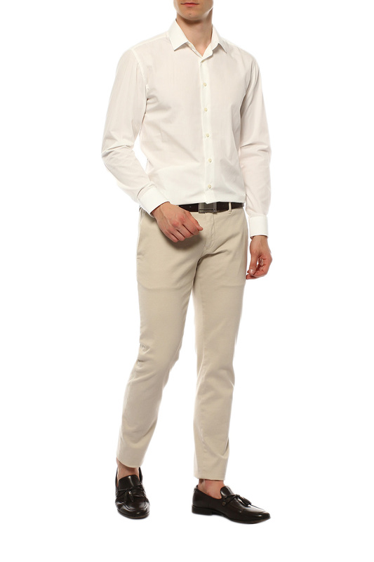 Рубашка мужская VAN CLIFF EXCLUSIVE 15838 бежевая 39-176