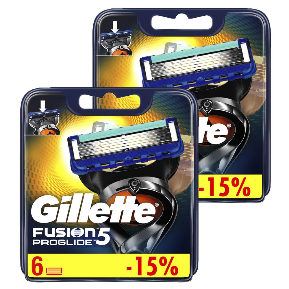Годовой запас Gillette сменные кассеты для бритья