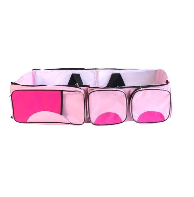 Купить Сумка-люлька трансформер 2 в 1 Markethot Baby Розовый/Фуксия, NoBrand,