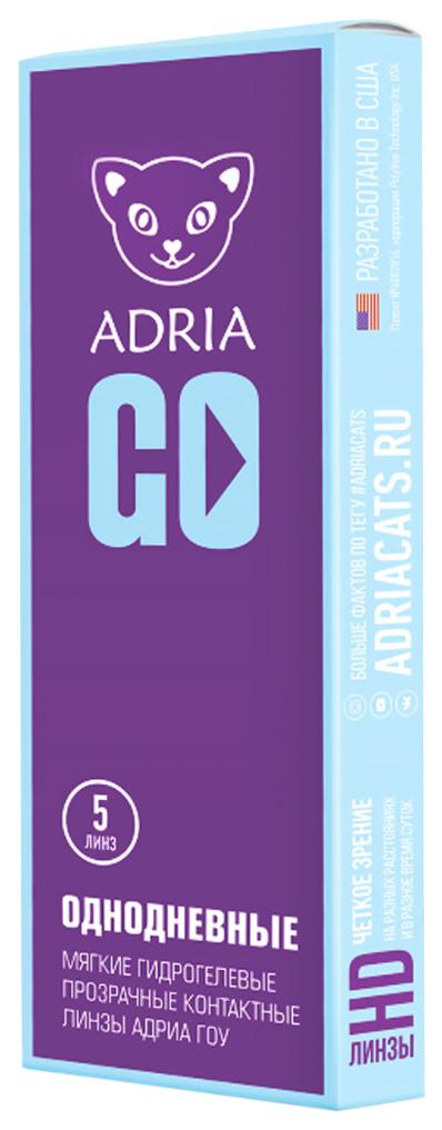 Купить Morning-Q 1 Day GO 5 pack, Контактные линзы Morning-Q 1 Day Adria GO 5 pack PWR -12, 00, R 8.6