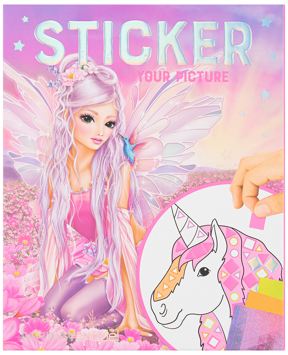 Альбом для творчества Depesche Fantasy Model Sticker