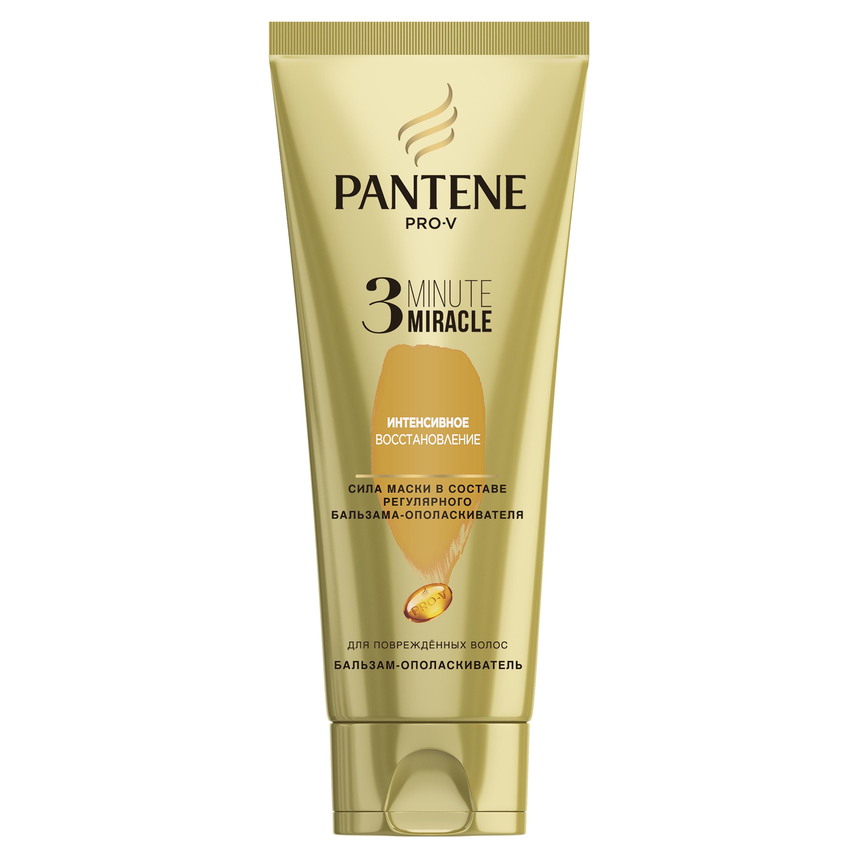 Купить Бальзам для волос PANTENE Pro-V 3 Интенсивное восстановление 200 мл, pro-V 3 Minute Miracle Интенсивное восстановление