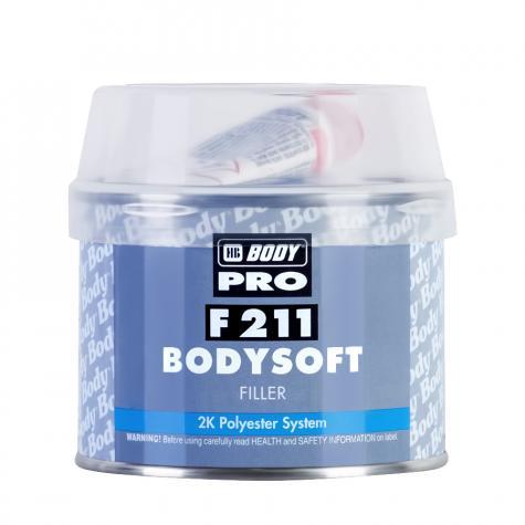 Шпатлевка полиэфирная HB BODY 211, 0,25 кг