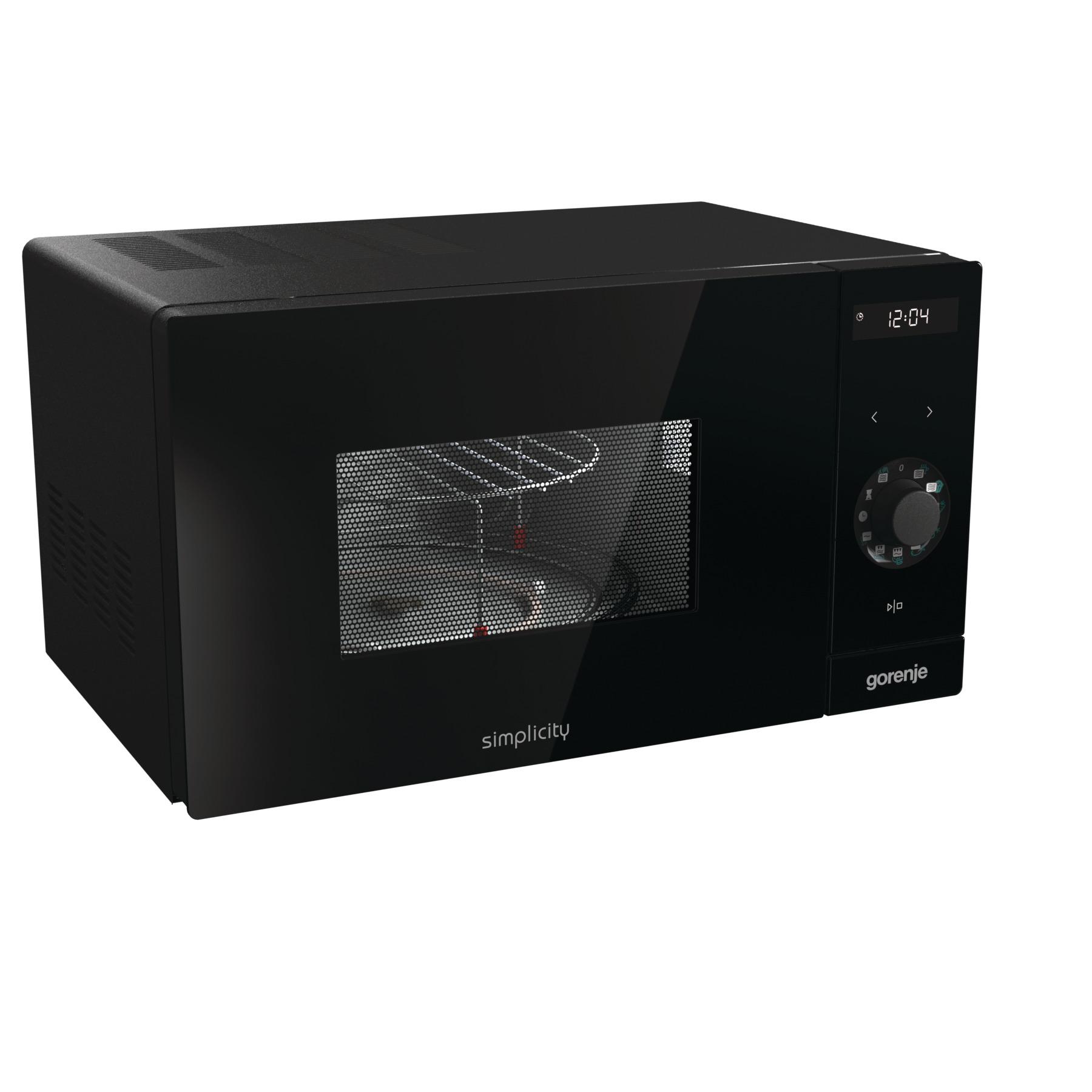 Микроволновая печь Gorenje MO235SYB Black