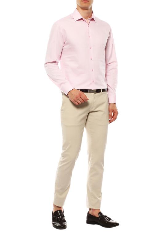 Рубашка мужская VAN CLIFF EXCLUSIVE 15628 розовая 39-176