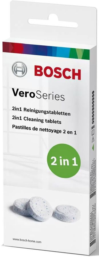 Очищающие таблетки для кофемашин Bosch TCZ8001N 10шт