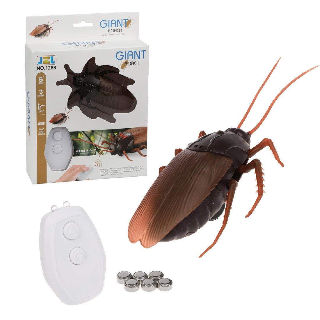 Радиоуправляемый таракан Наша Игрушка 645190