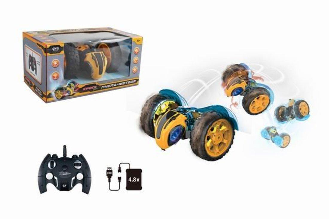 Купить Радиоуправляемая машина-трюковая Пчела Наша Игрушка 612813, Наша игрушка,