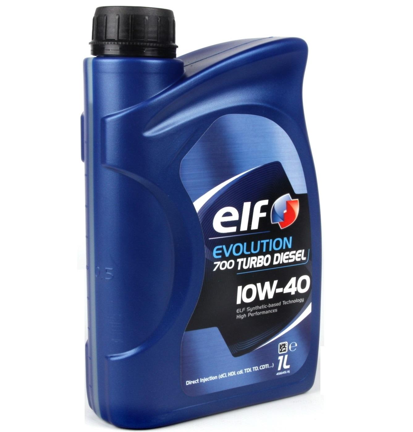 Моторное масло elf evolution 700 td 10w40