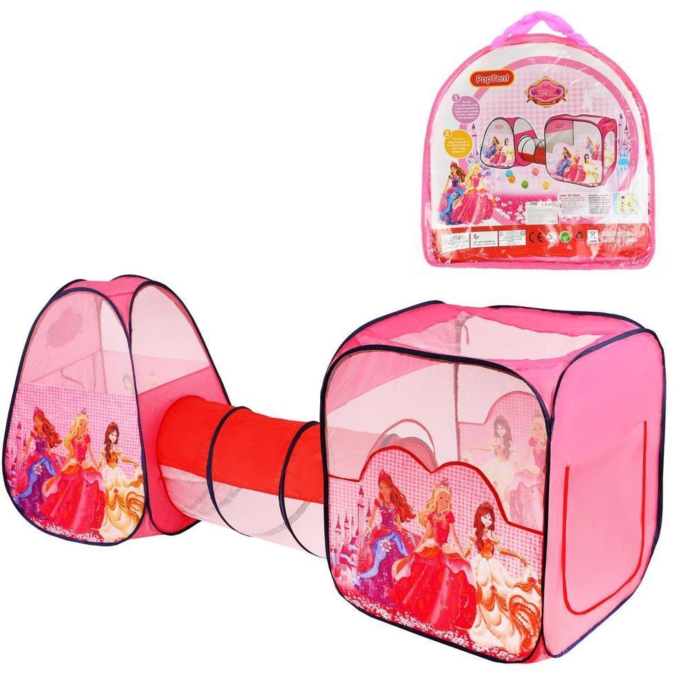 Купить Палатка игровая c туннелем Принцессы Наша Игрушка 800141, Наша игрушка,