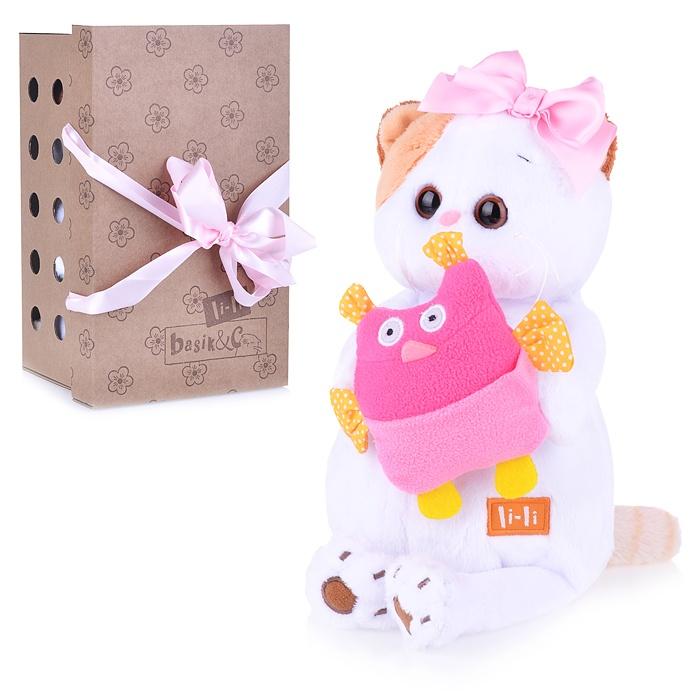 Купить Мягкая игрушка Кошечка Ли-Ли 24 см BUDI BASA 325951,