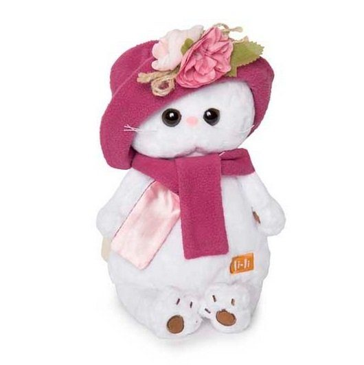 Купить Мягкая игрушка Кошечка Ли-Ли 24 см BUDI BASA 323598,