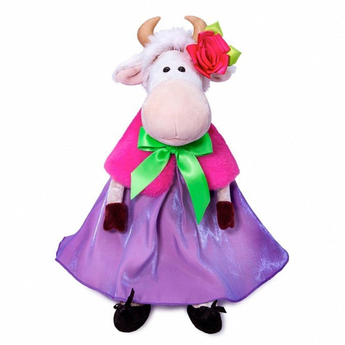 Купить Мягкая игрушка Коровка Френсис 25 см BUDI BASA 326151,