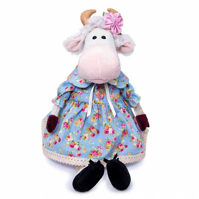 Купить Мягкая игрушка Коровка Флоранс 25 см BUDI BASA 326152,