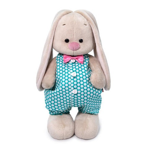 Купить Мягкая игрушка Зайка Ми в комбинезоне 25 см BUDI BASA 206364,