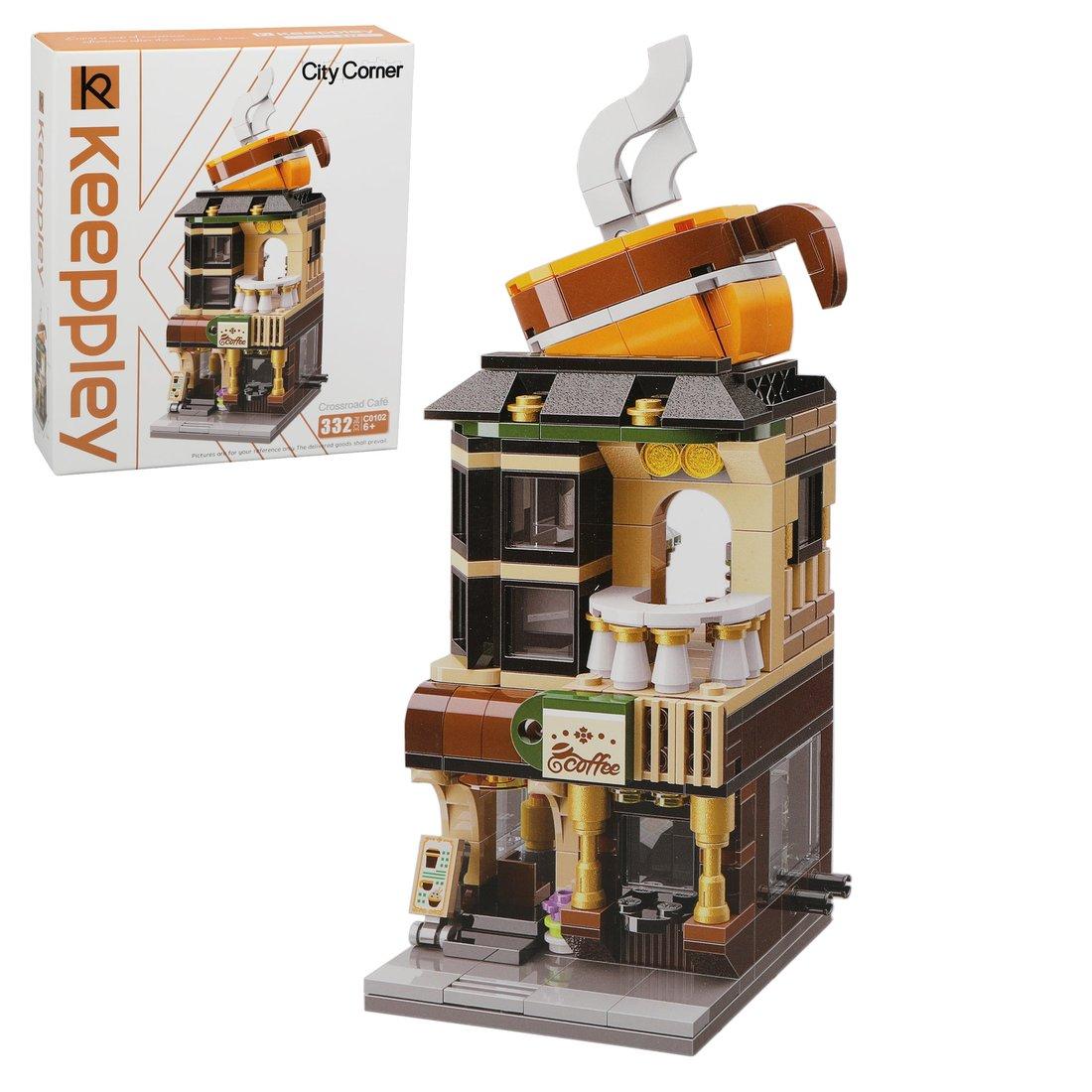 Купить Конструктор серии Городские здания Кофейня Наша Игрушка 644574, Наша игрушка,