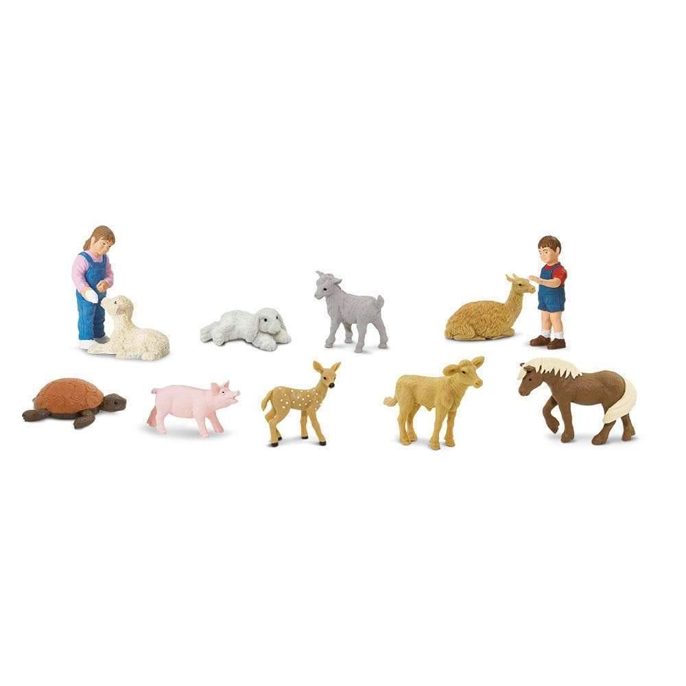 Набор фигурок Safari Ltd Детский зоопарк