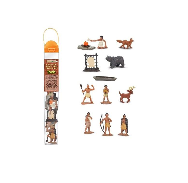 Набор фигурок Safari Ltd Жизнь индейцев