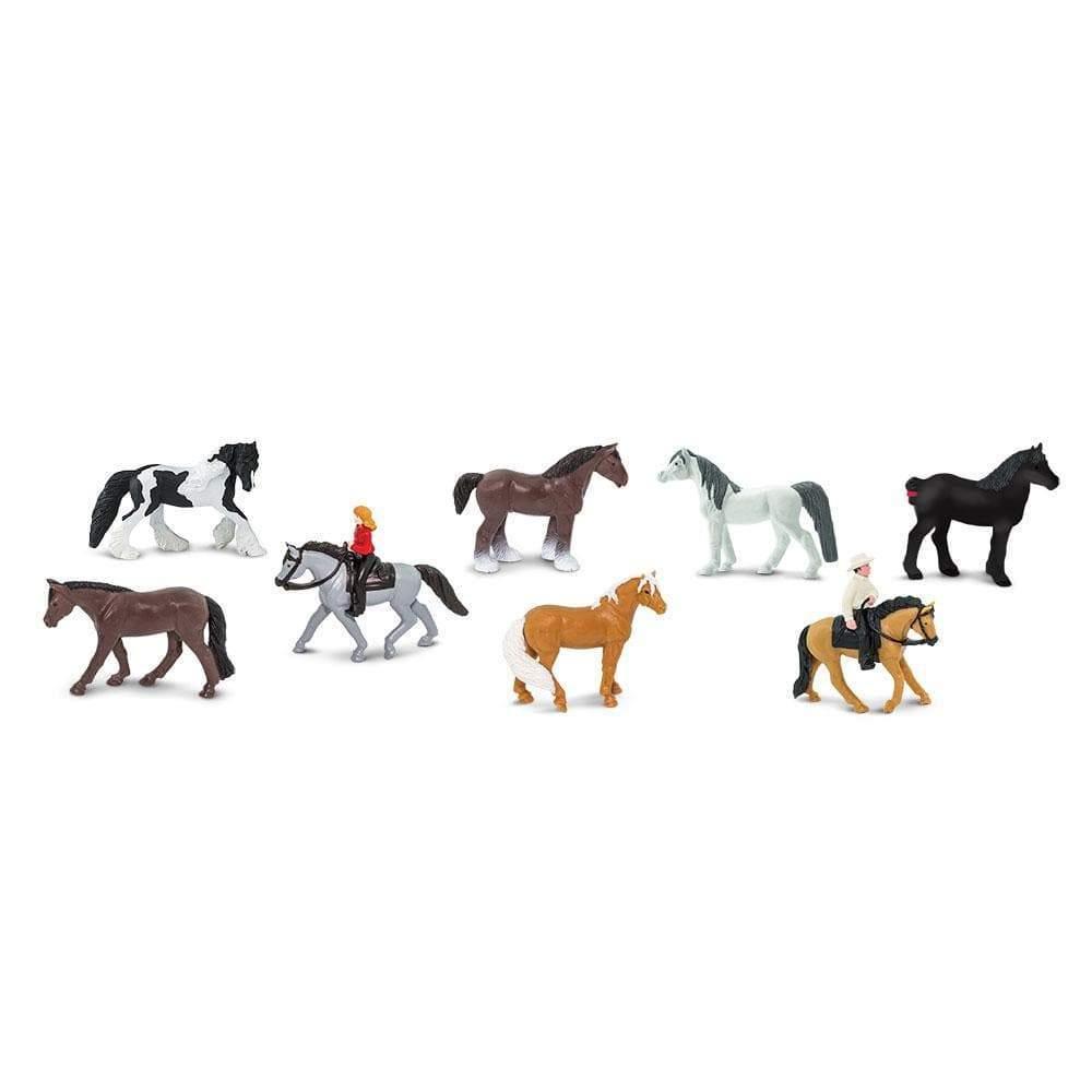 Набор фигурок Safari Ltd Лошади и наездники