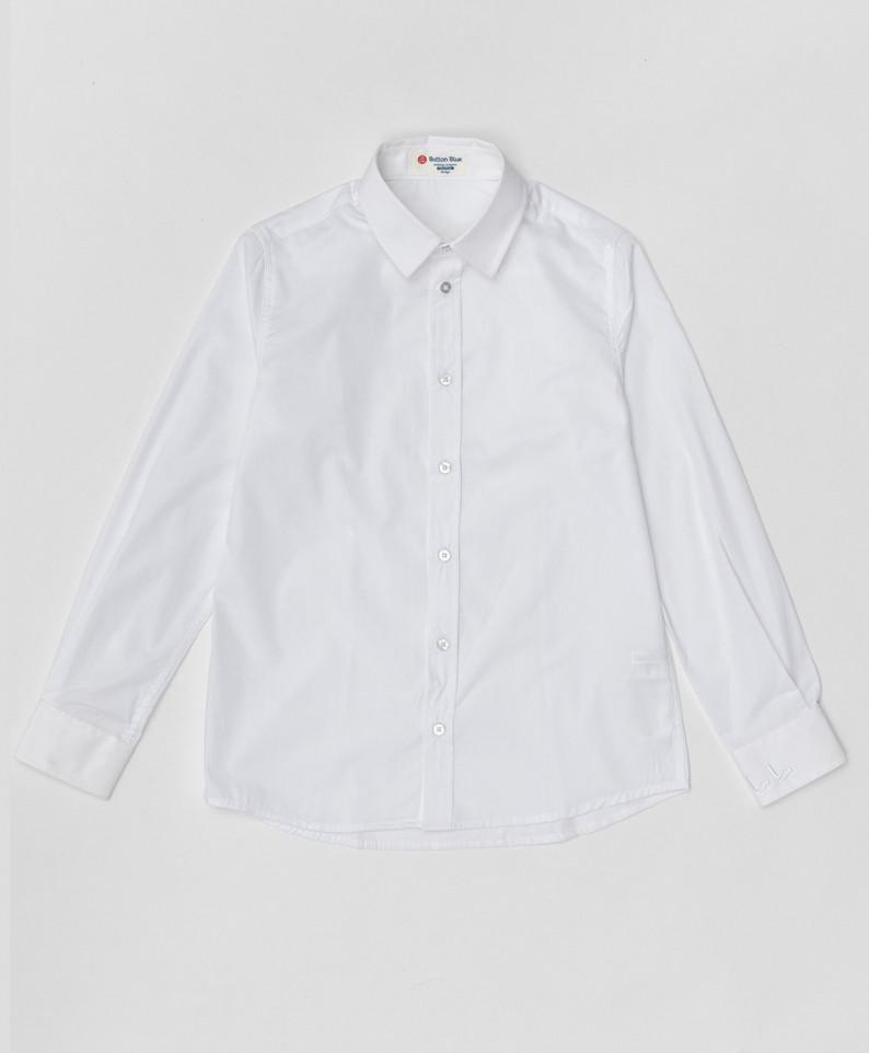 Купить 220BBBS23030200, Белая рубашка Button Blue для мальчиков 170,