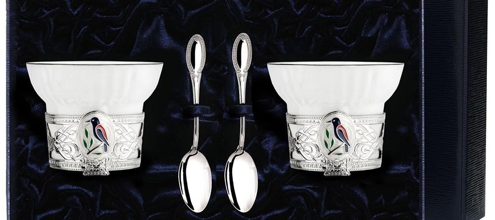 Набор чайных чашек АргентА