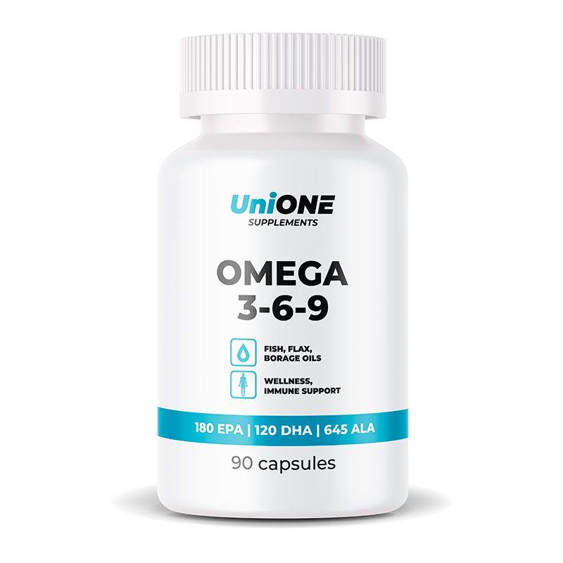 Омега 3 6 9 UniONE Omega