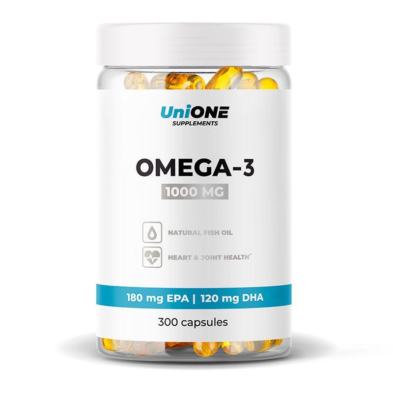 Омега 3 рыбий жир UniONE Omega