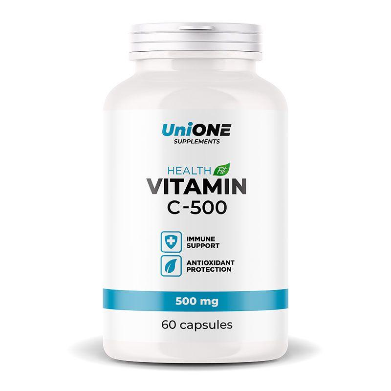 Купить Витамин С аскорбиновая кислота UniONE Vitamin C 500 мг (60 капсул)