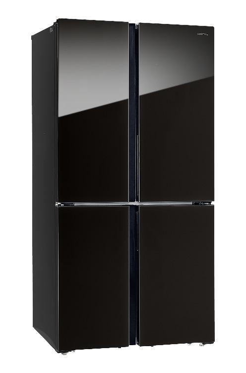 Холодильник Hiberg RFQ 500DX NFGB inverter
