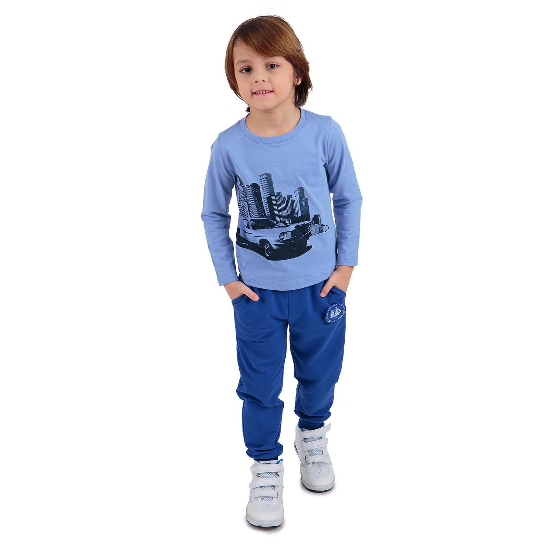 Джемпер Me&We Автолюбитель голубой р.122 GL001116078