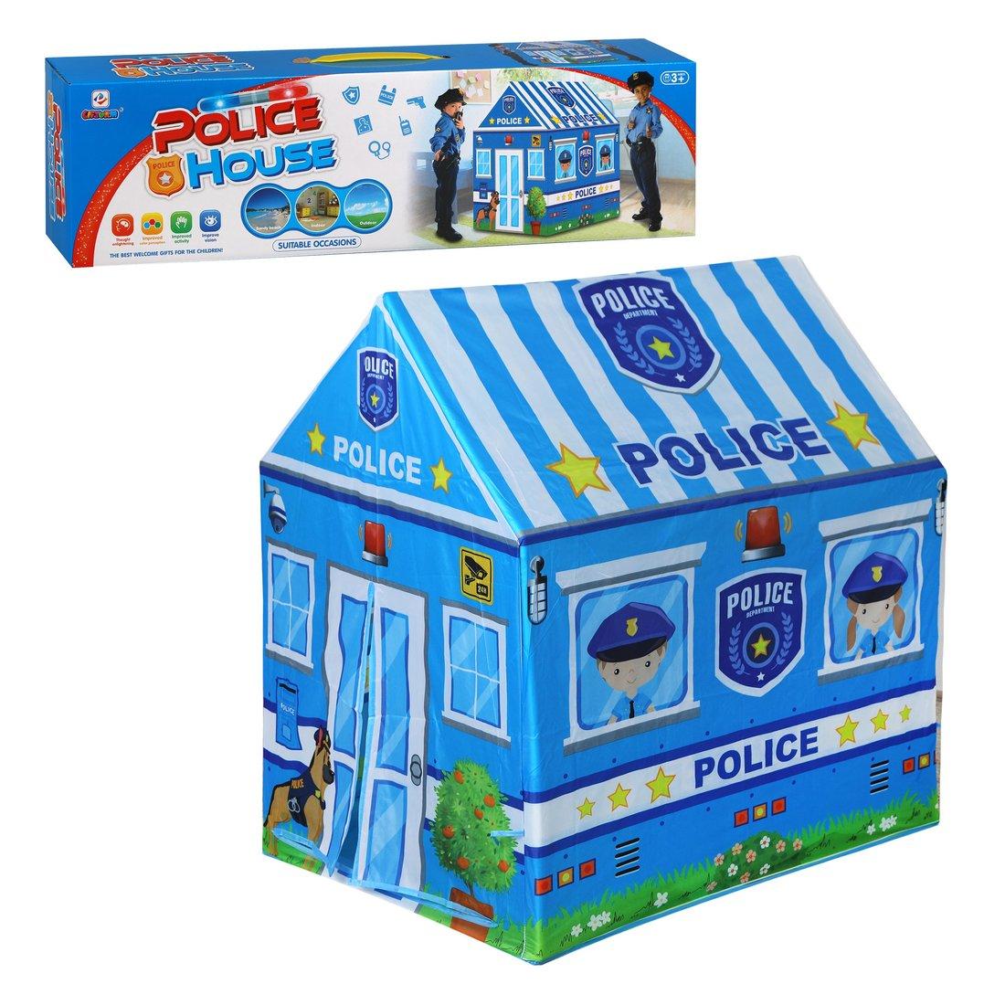 Купить Игровая палатка Полиция 69х93х103 см Наша Игрушка 644543, Наша игрушка,