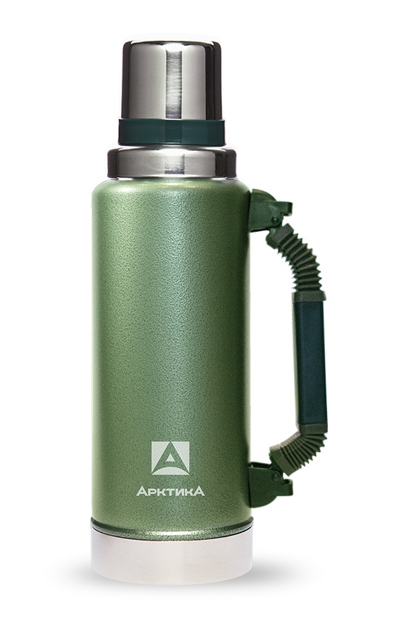 Фото - Термос Арктика 106-1250Р G 1.25л, зеленый, с ручкой (106-1250Р)