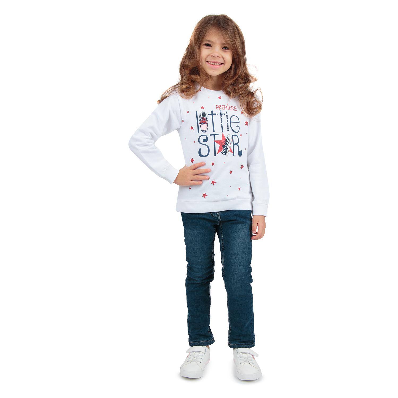 Купить GL001058820, Джемпер Leader Kids белый р.110,