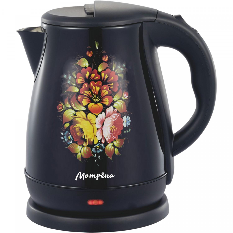 Чайник электрический Матрена МА 003 Хохлома Black