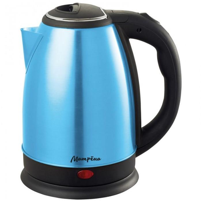 Чайник электрический Матрена MA 002 Steel/Blue
