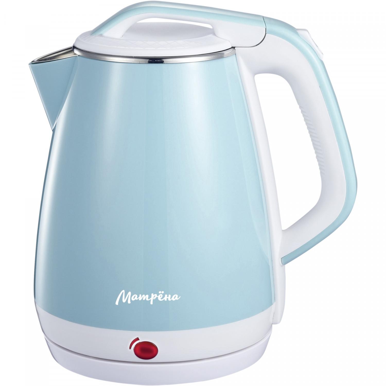 Чайник электрический Матрена МА 004 White/Blue