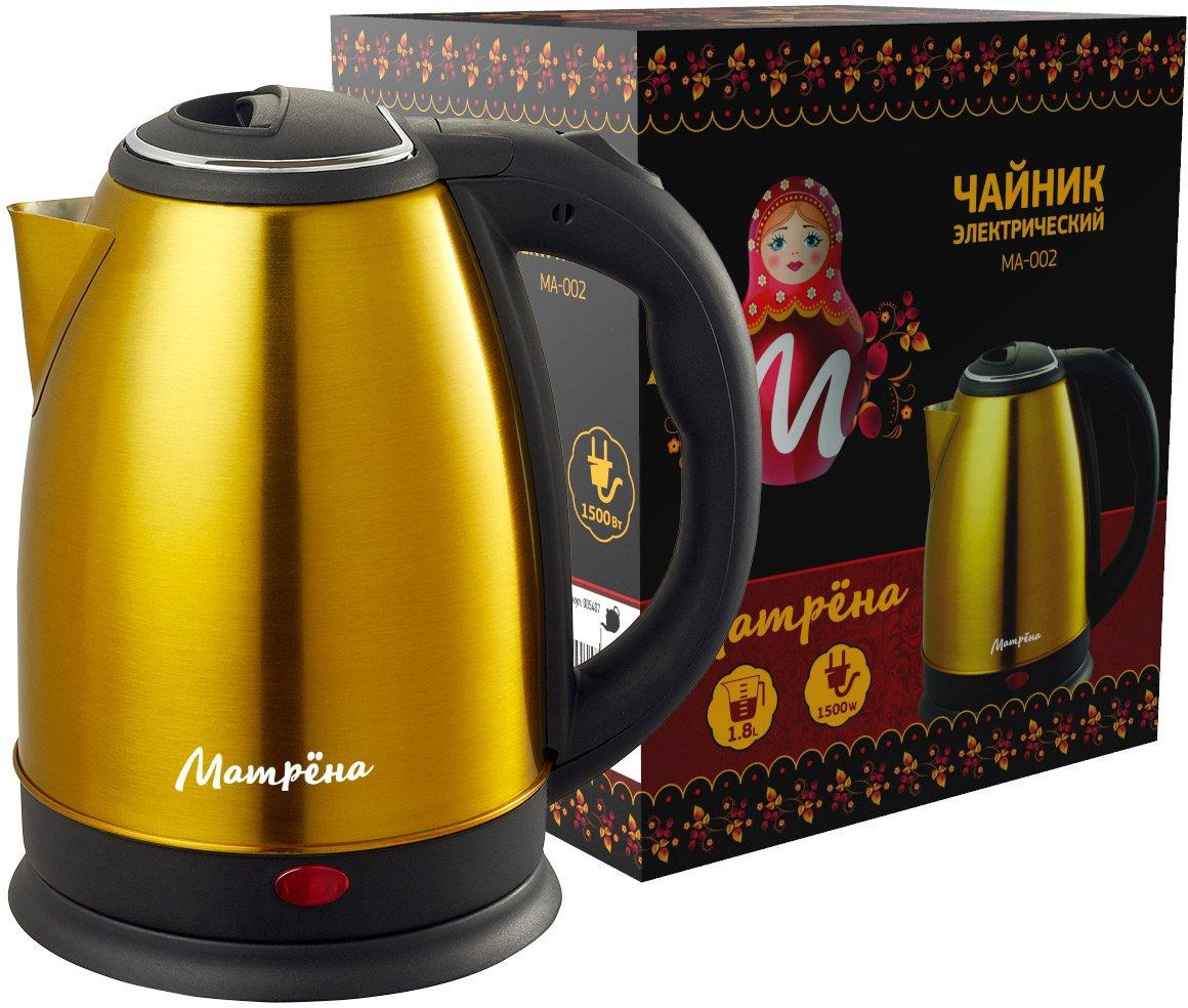 Чайник электрический Матрена МА 002 Yellow