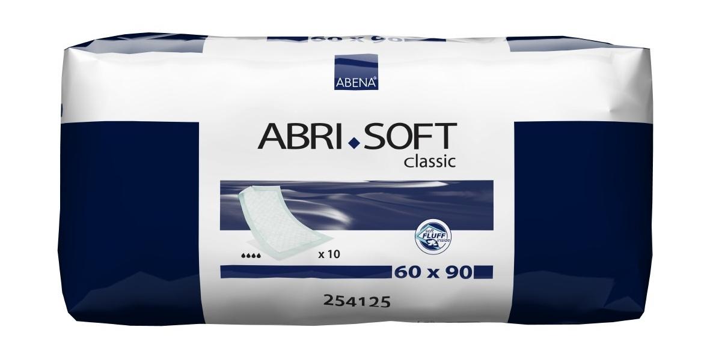 Купить Abena Abri-Soft Classic / Абена Абри-Софт Классик - впитывающие пеленки, 90x60 см, 10 шт.