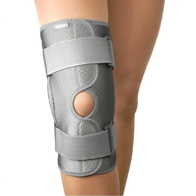 Купить B.Well W-3320 / Би Велл - бандаж с шарнирами на коленный сустав, XL, серый