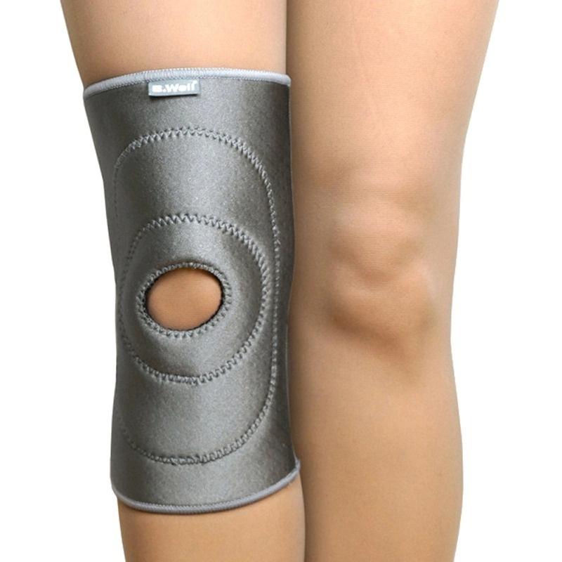 Купить B.Well W-3314 / Би Велл - бандаж на коленный сустав, M, серый