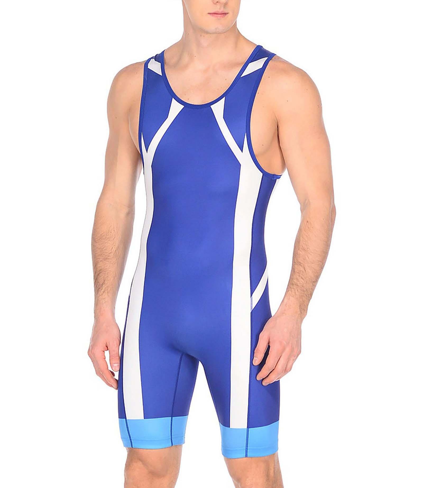 Спортивный комбинезон мужской Asics 2081A021-0043 синий XL
