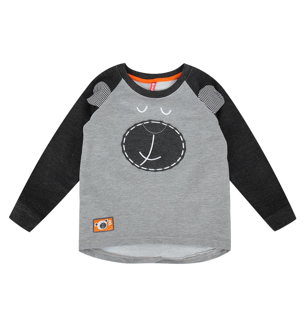 Джемпер Kiki Kids Baby Boy серый р.98 GL000812288