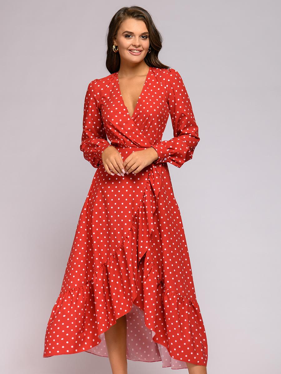 Вечернее платье женское 1001dress 0112001-01908RD красное 50