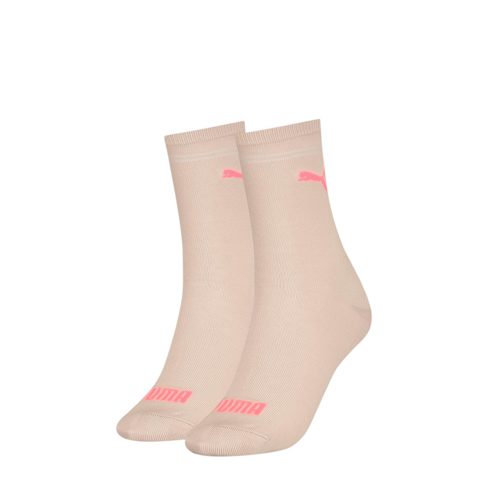 Набор носков женских PUMA 90795705 розовых 39-42 RU