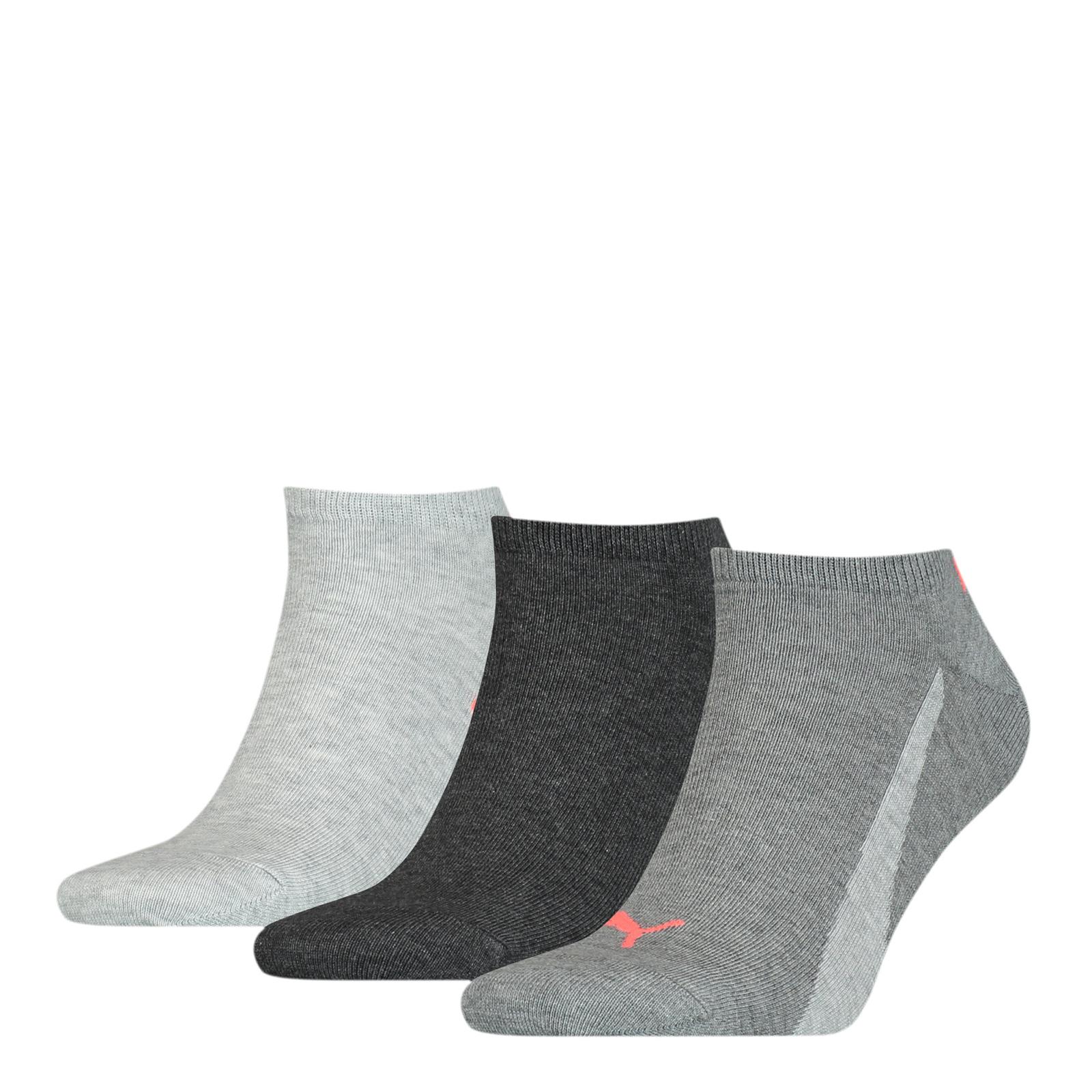 Набор носков женских PUMA 90795105 разноцветных 35-38 RU